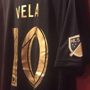 info for b0dd4 aaaf6 LAFC Los Angeles Vela Fan Jersey NWT